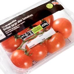 Tomatoes in Packaging