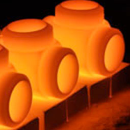 Red-hot forged equipment