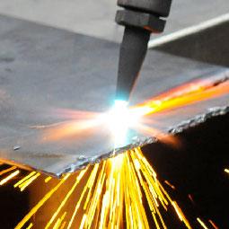 Oxycetaline Torch Cutting Metal